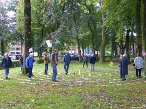 Labyrinth wandelen